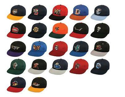 Minor League Replica Caps