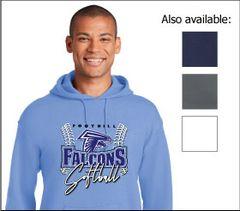 FHS SOFTBALL Cotton Hoodies
