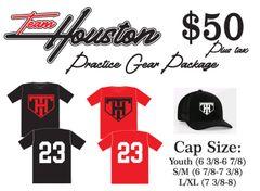 Team Houston Practice Package