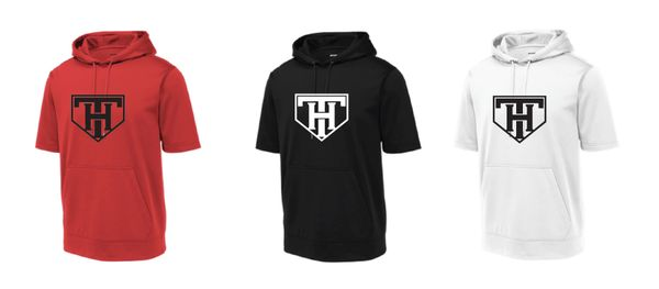 TEAM HOUSTON Moisture Management Short Sleeve Hoodies