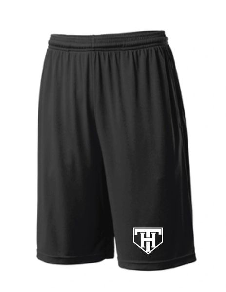 TEAM HOUSTON Moisture Management Shorts with Pockets