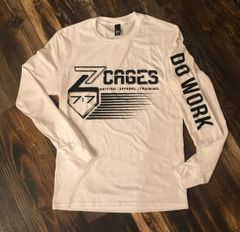 Z Cages 7:7 Do Work Long Sleeve Soft Tees