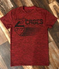 Z Cages 7:7 Short Sleeve Moisture Management Shirts