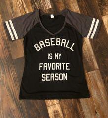 Baseball is My Favorite Season - Tee