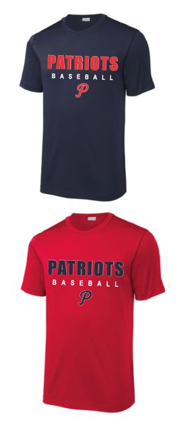 Patriots Baseball Spirit Shirt
