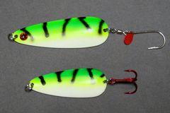 Green Glow Tiger Spoons