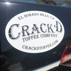 Crack'd Toffee Magnet