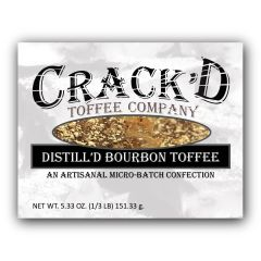 Distill'd Bourbon Toffee 1/3 lb. - NEWEST FLAVOR