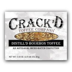 Distill'd Bourbon Toffee 1/3 lb. - NEWEST FLAVOR