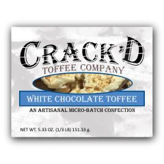 White Chocolate Toffee 1/3 lb.