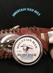 MOUNTAIN MAN OILS BEARD BALM NORTH WOODS ( LIGHT WOODSY SCENT)