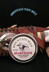 MOUNTAIN MAN OILS BEARD BALM SANTA WOODS ( cookie scent)