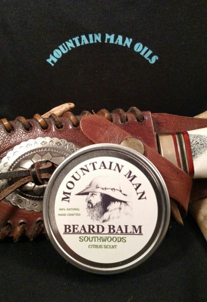MOUNTAIN MAN OILS BEARD BALM SOUTHWOODS (CITRUS SCENT)