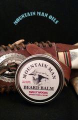 MOUNTAIN MAN OILS BEARD BALM SWEET WOODS (woodsy/vanilla scent)
