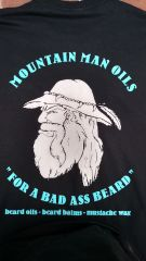 MOUNTAIN MAN OILS - BAD ASS BEARD T-SHIRT