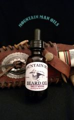 MOUNTAIN MAN BEARD OIL SWEET WOODS (woodsy/vanilla scent)