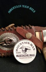 MOUNTAIN MAN OILS MUSTACHE WAX (CEDARWOOD SCENT )