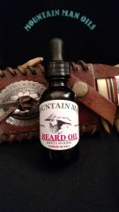 MOUNTAIN MAN OILS BEARD OIL SANTAWOODS cookie scent
