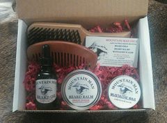 MOUNTAIN MAN OILS GROOMED BEARD GIFT SET