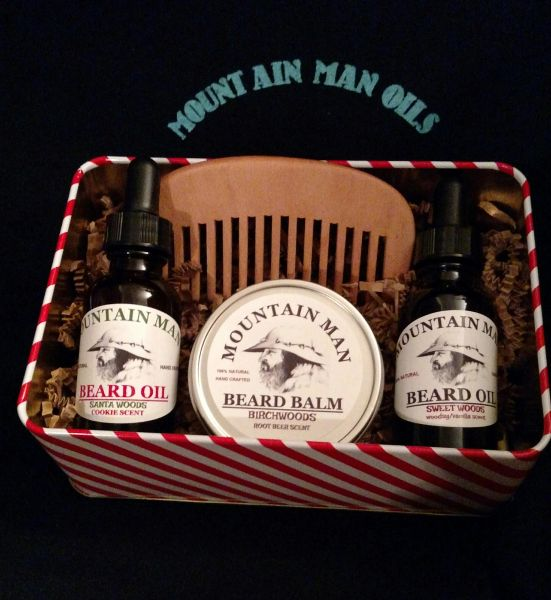 MOUNTAIN MAN OILS COMBO HOLIDAY GIFT SET