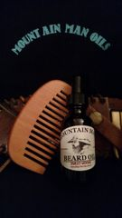 MOUNTAIN MAN OILS BEARD OIL & ROSEWOOD COMB COMBO PACK