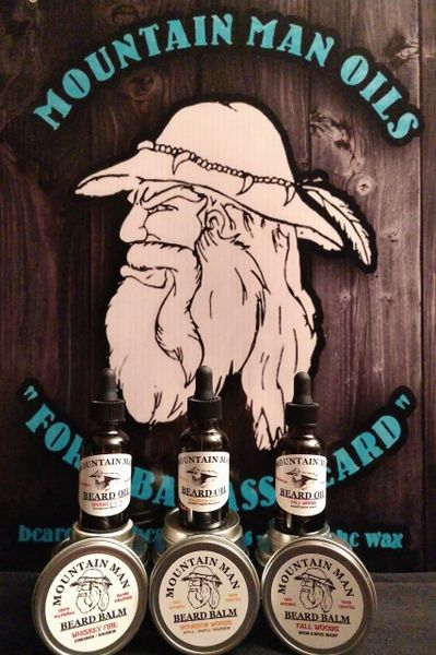 MOUNTAIN MAN OILS BEARD OIL - FALL WOODS ( wood /spice scent)