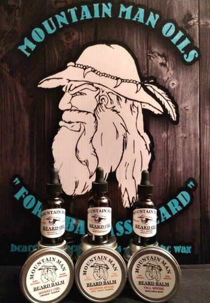 MOUNTAIN MAN OILS BEARD OIL - SWEET TOBACCO WOODS - (sweet pipe tobacco scent)