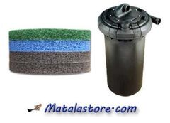 Replacement Media for the Cyprio BioForce 500 filter