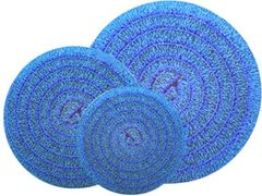 HIGH DENSITY BLUE ROLLS, 22 AND 24 INCH