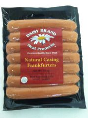 Natural Casing Frankfurters (14 oz pack)-AUGUST SALE!