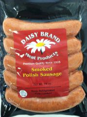 Bun Sized Smoked Polish Sausage (16 oz pack)-JANUARY SALE!
