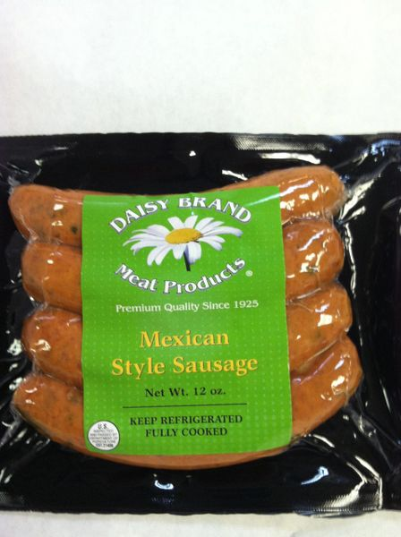 Mexican Style Sausage (12 oz pack)