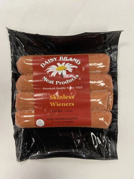 Jumbo Skinless Wieners (12 oz pack)