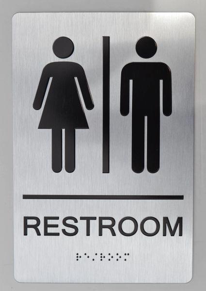 STAFF Restroom Sign ADA SIGN - The sensation line | HPD ...