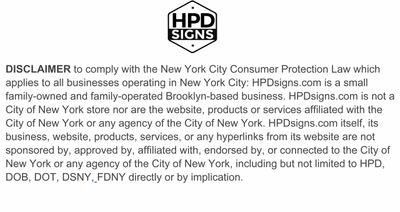 HPD SIGNS . COM