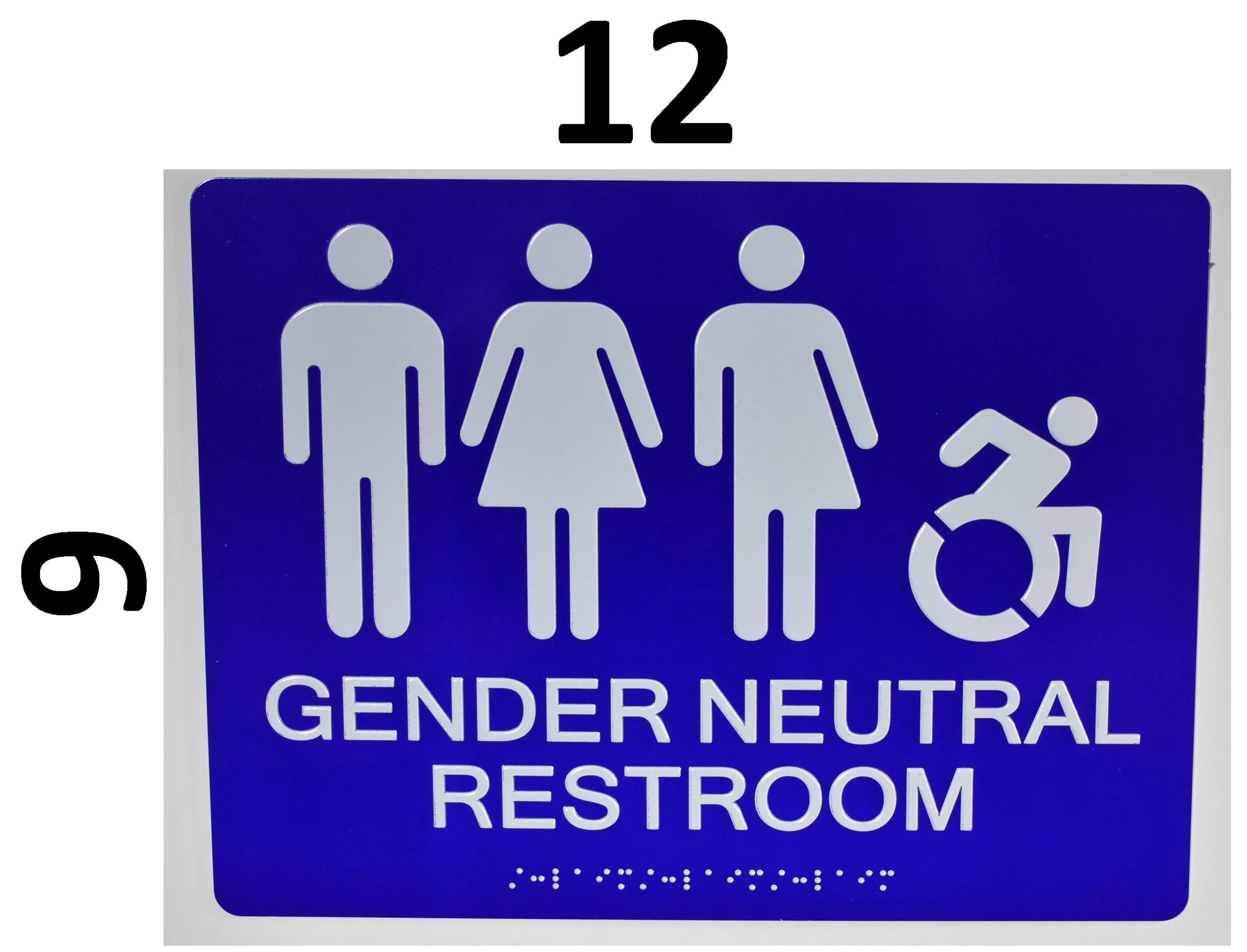 GENDER NEUTRAL RESTROOM ADA SIGNS