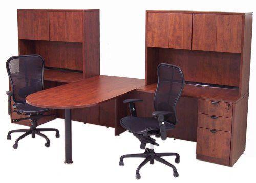 new arrival 64dde 9b383 2-Person, T-Shaped Desk