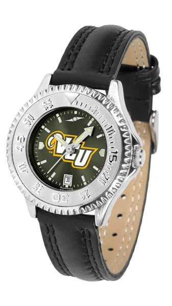 VCU Ladies' Leather Competitor AnoChrome Silver Bezel