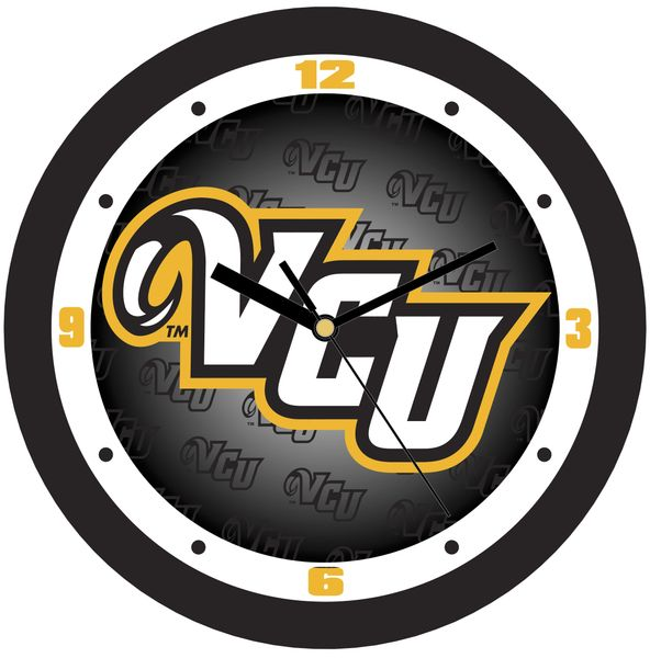 VCU Dimension Wall Clock - Black