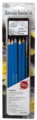 Drawing Pencil Set in Tin