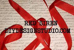 RED SIREN SEAM BINDING RIBBON (5yds)