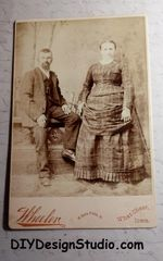 Cabinet Card 301 Couple