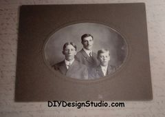 Cabinet Card 300 Brothers