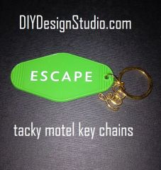 Tacky Motel Keychains Escape