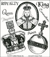 Royalty Stamp Set Muse
