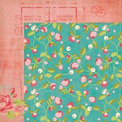 12 x 12 Floral paper packs (20)