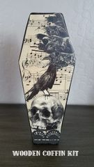 Coffin Kit with Ravens