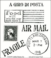 MUSE Airmail Stamp Plate