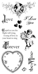Graphic 45 Love Stamps