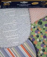 HALLOWEEN Diecut papers 6x6